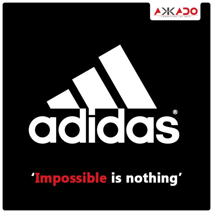 The three stripes are not just ordinary stripes, they've got some hidden message to it. #Akkado #ConnectingtheDots #Logo #LogoStory #Adidas