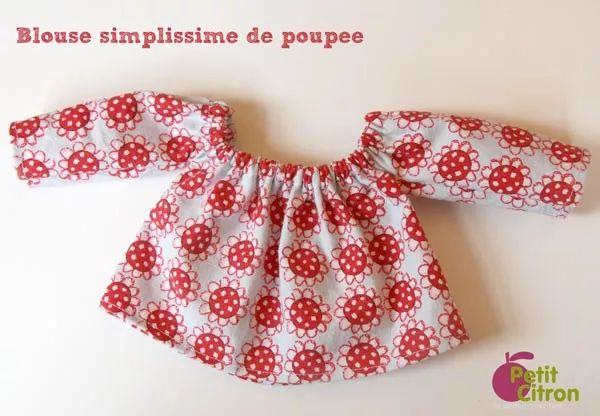 blouse-simplissime-poupee                                                                                                                                                                                 Plus