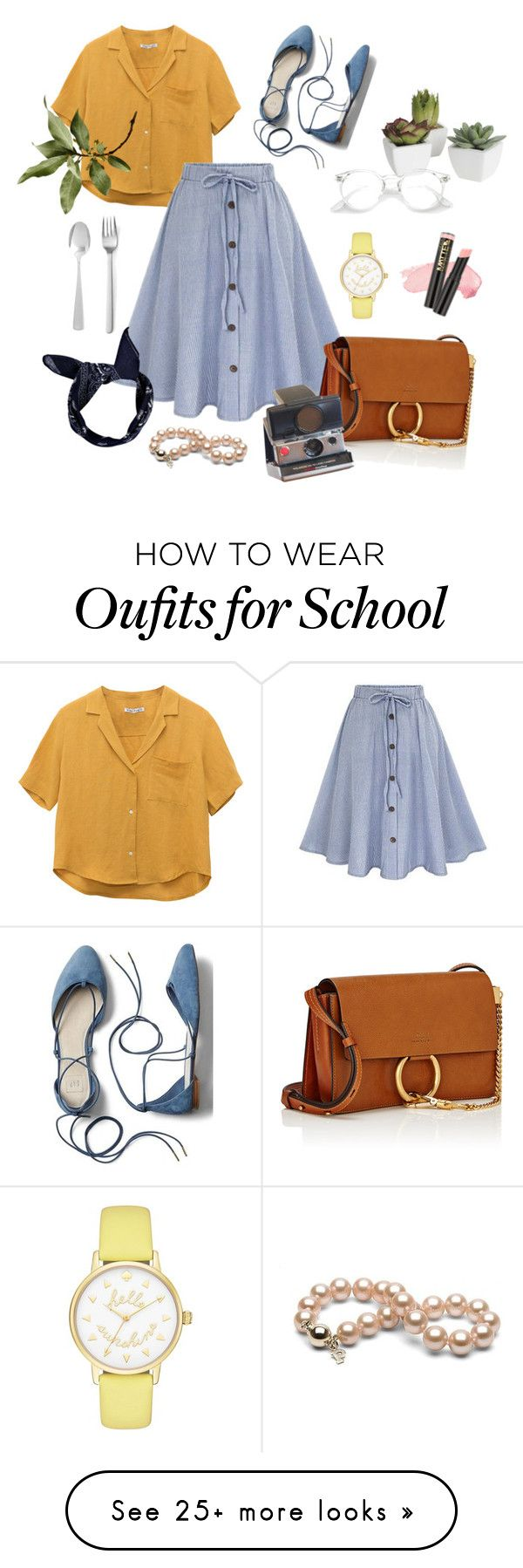 """069"" by euni-ce on Polyvore featuring Chloé, Pier 1 Imports, L.A. Girl, Kate Spade, Gap, Menu and Boohoo"