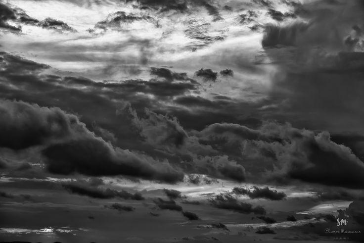 B&W Cloudscape by Stavros Marmaras on 500px