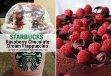 Raspberry Chocolate Dream Frappuccino | Starbucks Secret Menu