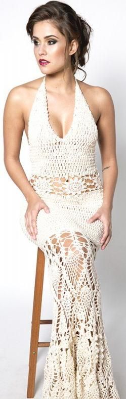 Katia Portes crochet dress