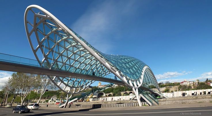 Bridge of Peace - Tbilisi, Georgia by Oliviero Masseroli