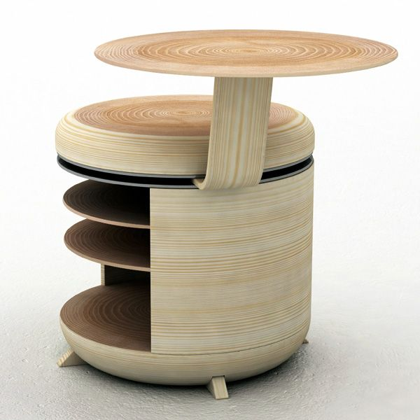 Beautiful Tandem Storage, Chair And Table By Geoffrey Greven Nice Ideas