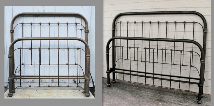 King Size Iron Bed