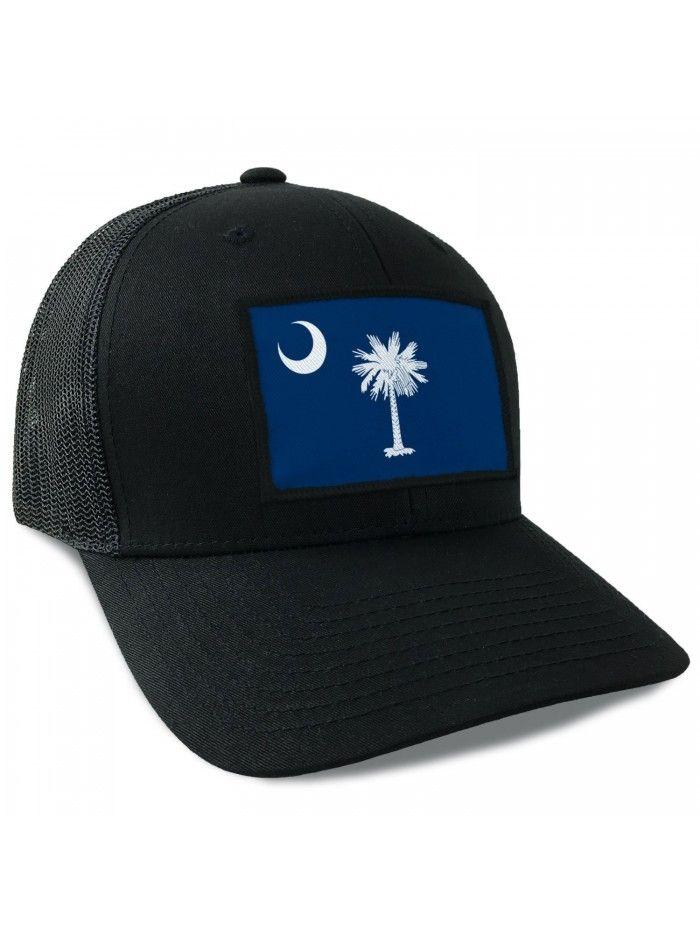 sale retailer 18fbb 430ec ... uk south carolina state flag flexfit mesh tactical trucker snapback hat  cj12jd4n6d3 hats caps womens hats