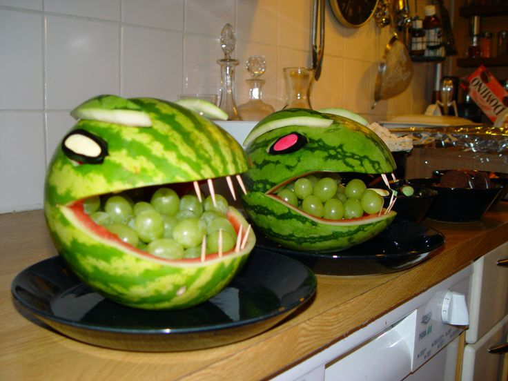 Water melon monsters for kids birthday.
