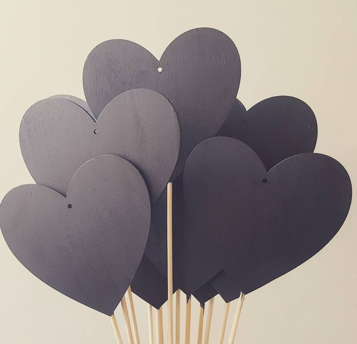 A bouquet of Chalkboard Hearts for your table numbers at your wedding! #weddingdecor #weddingday #weddings #weddingideas #weddingtable #weddingtalk #wedding #engagement #weddingdecoration #rusticdecor #rusticwedding #rustic #rusticheart #rusticweddingideas #rusticweddings #rusticdecorations #chalkboardhearts #chalkboard #chalkboardheart #chalk #tabledecorations #tabledecor #tabledecoration #tablenumbers  #tablenumber
