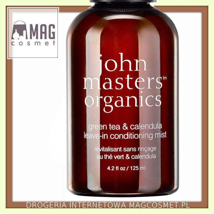 John Masters Zielona Herbata i Nagietek Odżywka bez Spłukiwania 125ml Kosmetyki do włosów - odżywki- Sklep Magcosmet