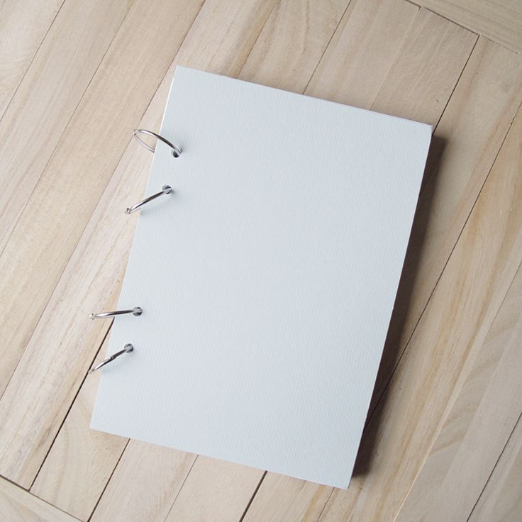 How to make a simple ring-bound Notebook.