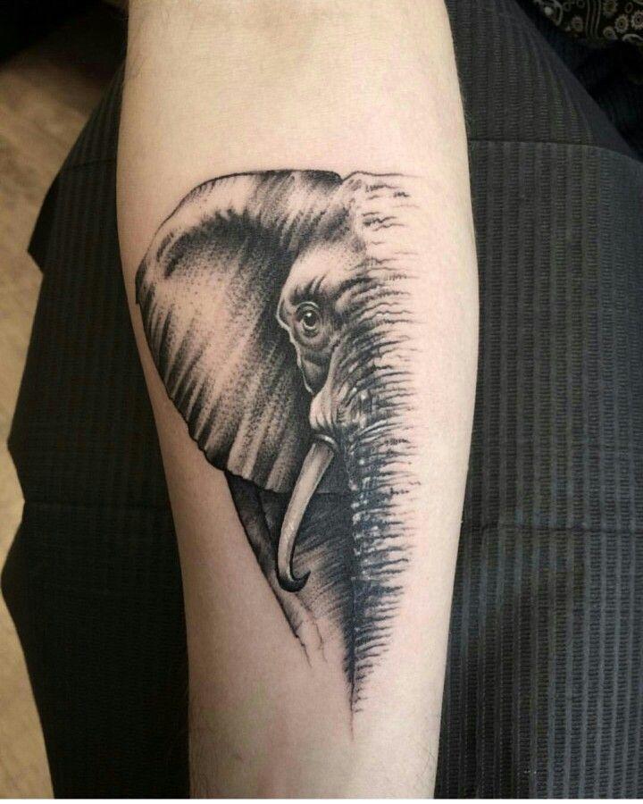 Elefante tatto | Tatuajes de elefantes, Tatuajes ...