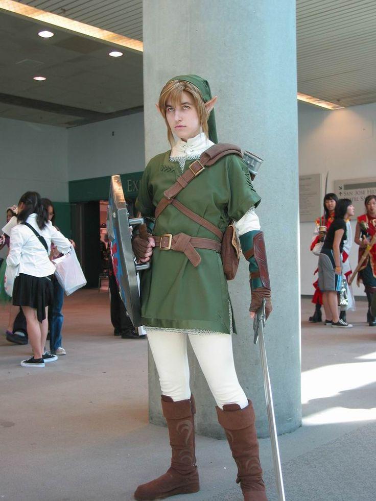 costume zelda Link and
