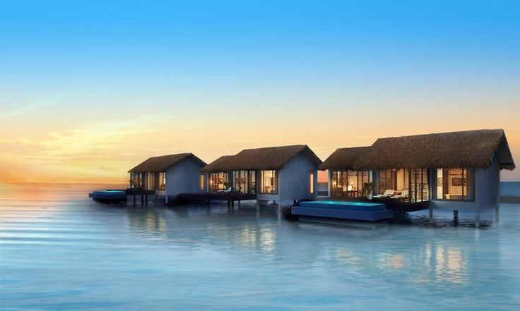 Sea villas at The Residence Maldives