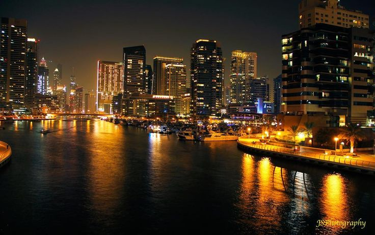 #uae #dubai #mydubai #dubaimarina #night #marina #skyline