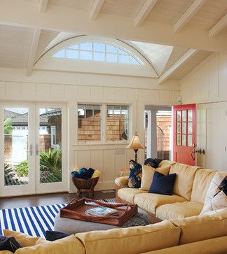 Tropical Living Rooms San Diego And Yellow Sofa On Pinterest