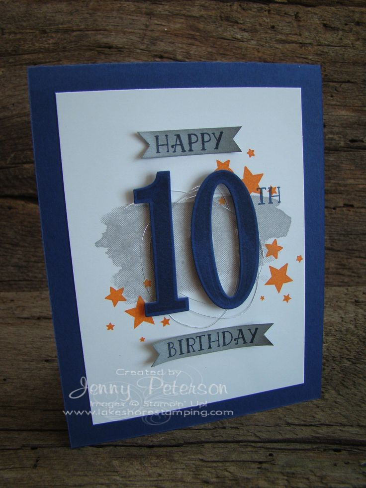 Birthday Card 10 Year Old Boy New Personalised 40th Birthday Cards