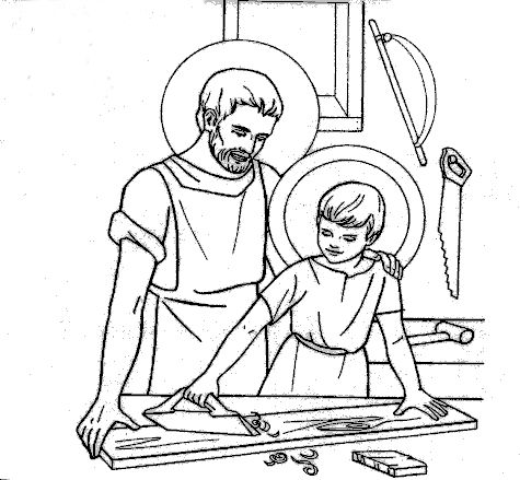 San giuseppe for St joseph coloring page