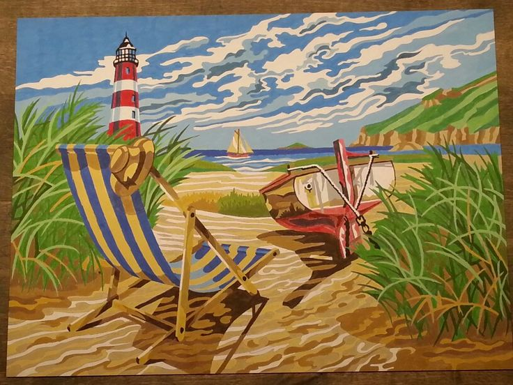 Strand landschap