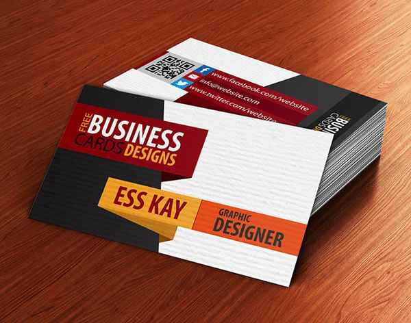 Best Business Card Design Images On Pinterest Business Card - 2 sided business card template
