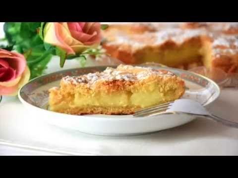 crostata crema e pinoli