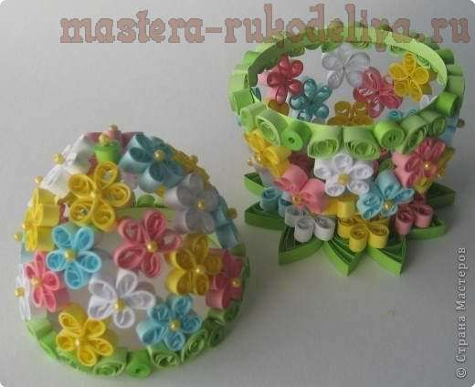 quilled egg.and tutorial    .great blog