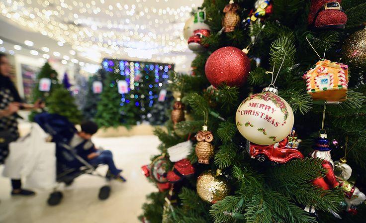 Selfridges avasi jo jouluosastonsa
