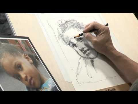 How to Draw Like an Artist: Creating a Portrait Sketch - YouTube