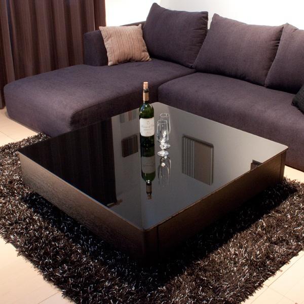 リビングテーブル/Arly ブラック  table  #家具