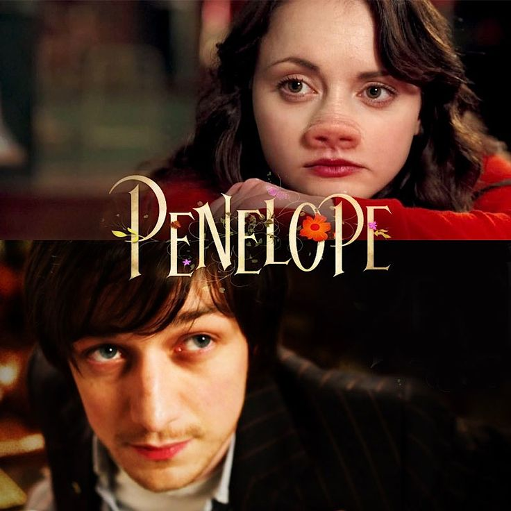 i love this movie its awesome the guy dont look on the outside he looks at the good in Penelope