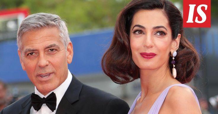 Amal Clooney häikäisi hämmästyttävän hoikkana punaisella matolla – synnytti kaksoset vain muutama kuukausi sitten - Viihde - Ilta-Sanomat