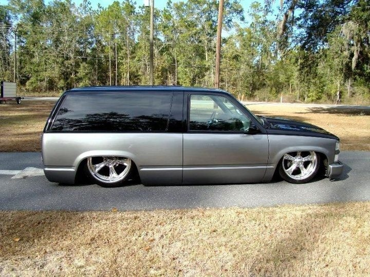 Something about a two door Tahoe....