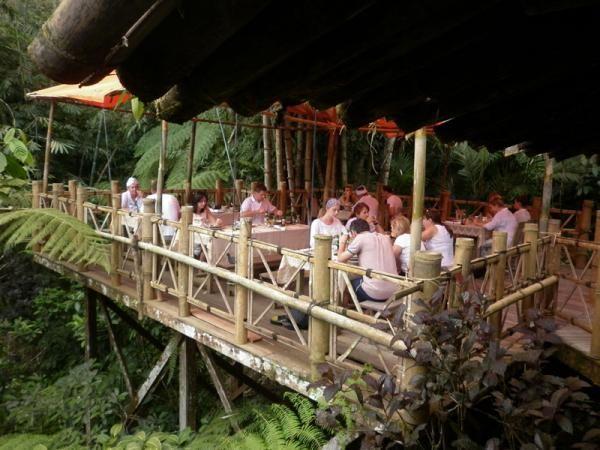Lunch at Bamboo Forest Restaurant, WakaLandCruise, Denpasar, Bali - Indonesia
