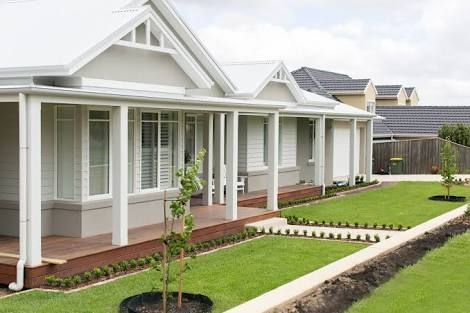 Image result for hamptons style exterior colours