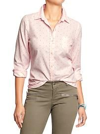 Women's Oxford Shirts