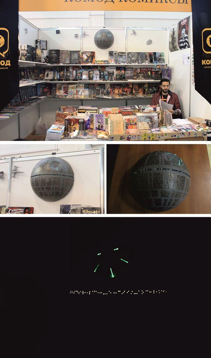 Model of Death Star of Star Wars