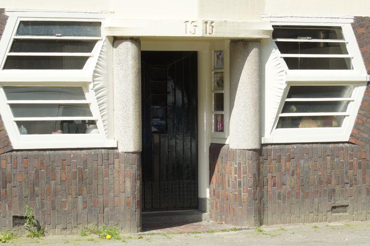 voordeur in Amsterdam