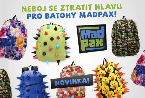 Seznamte se s jedinečnými školními batohy MadPax