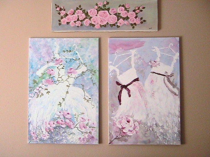 Кетти уютные Бухточки: сделать Шебби-шик живописи