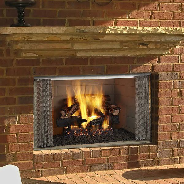 Majestic Villawood 42 Outdoor Wood Fireplace Outdoor Fireplace
