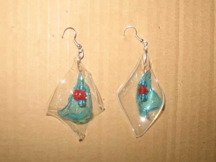 Medium earrings (about 5 cm length)