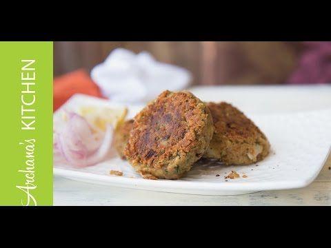 Vegetarian Shami Kebab Recipe (Chane Ke Kebab) | Simple and Easy to Make Healthy Vegetarian Recipes and Videos