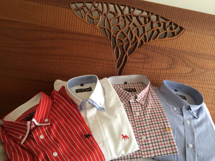 Camisas para varones y damas.