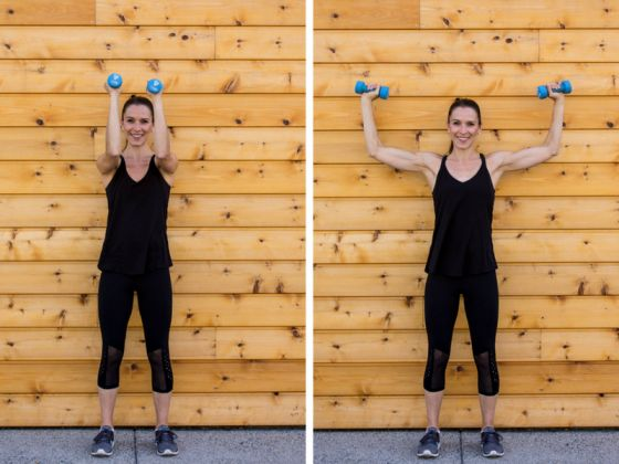 Sculpted Barre Arm Workout - Chest Press