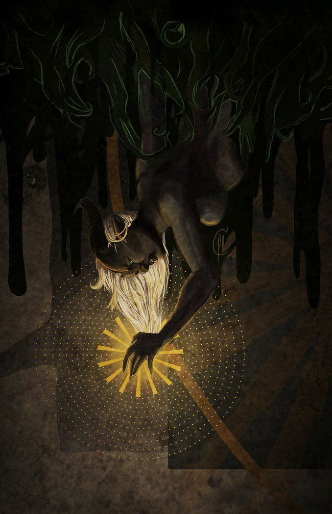 Consumed by the Dark by Fukai-Yami - Dragon Age Inquisition tarot art
