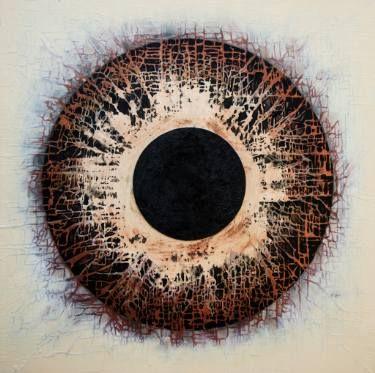 """Saatchi Art Artist Marjan Fahimi; Painting, """"Into the void"""" #art"""
