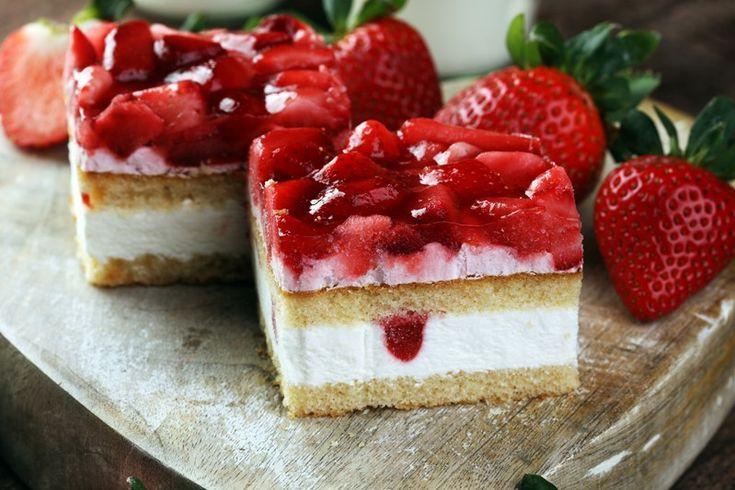 Torta paradiso alle fragole - Fidelity Cucina
