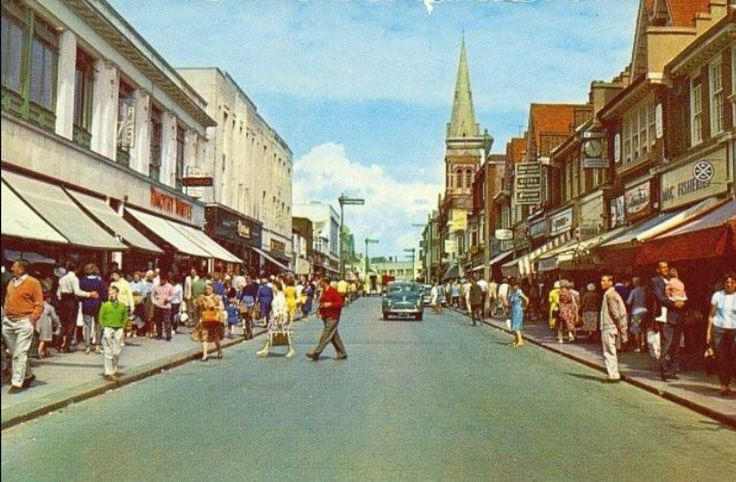 An Old Photo of the Town Centre at Bognor Regis West Sussex England