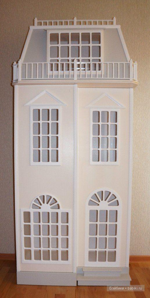 кукольный домик, шкаф-домик, хранение кукол, кукольный домик-шкаф