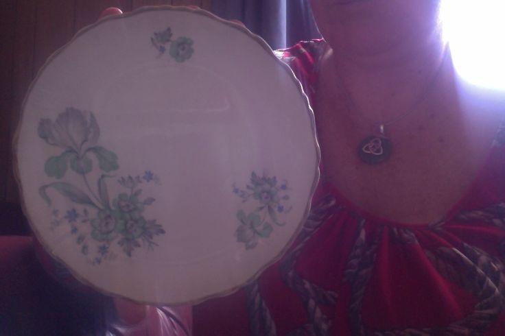 "Old Foley, James Kent Ltd, Staffordshire, Made In England, ""Chinarita""."