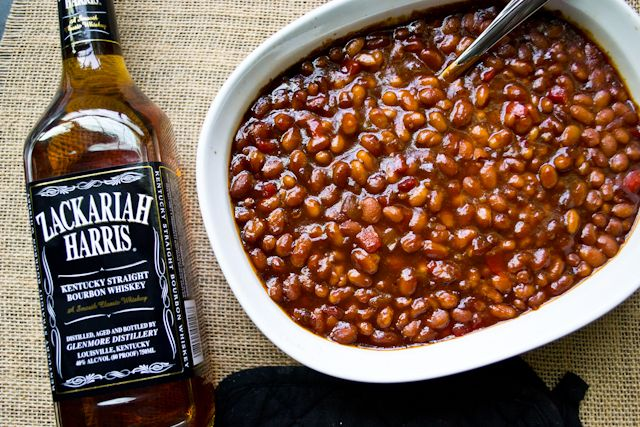"""Cats Out! Here is the base recipe for my always requested, delicious and """"no longer secret"""" bbq baked beans. Bourban BBQ Baked Beans"""